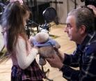 """Аня Чжао и Владимир Шахрин записывают песню к мюзиклу """"Маленький принц"""""""