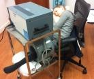 Даша на растяжке в английской клинике, 08.03.2012