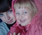 Галя вместе с дочкой Вероникой