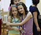 """Кристина с подружкой в реабилитационном лагере """"Шередарь"""". июнь 2012."""