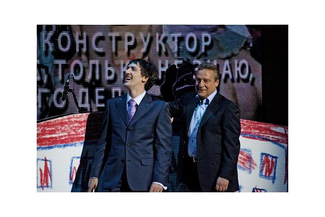 Артур Смольянинов, Геннадий Хазанов
