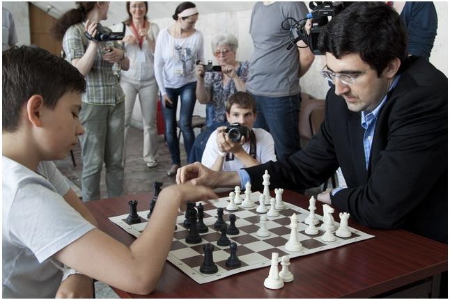 Владимир Крамник против Клима Сидорова