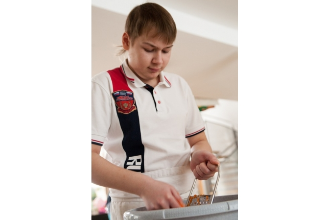 Кулинарный мастер-класс: Саша Иншев
