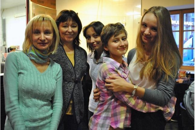 День рождения Полины Котовой