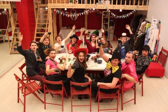 Безумное чаепитие в «Театре без Границ»