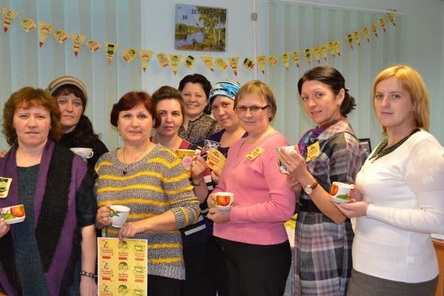 Безумное чаепитие Комплексного центра социального обслуживания населения Кемского муниципального района