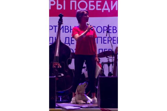 Чулпан Хаматова на церемонии закрытия Игр