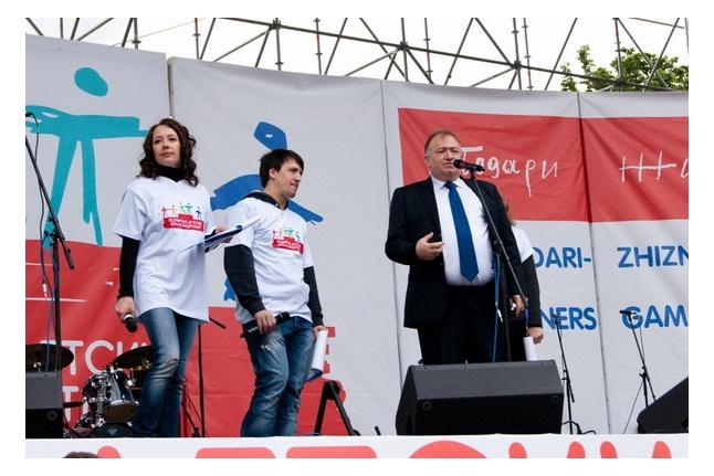 Игр победителей - 2012. Главный судья Игр Шаварш Карапетян.