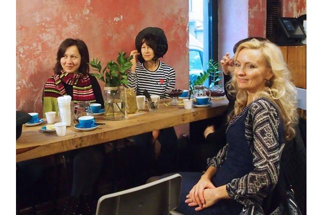 Безумное чаепитие с Екатериной Чистяковой в кафе Good Enough