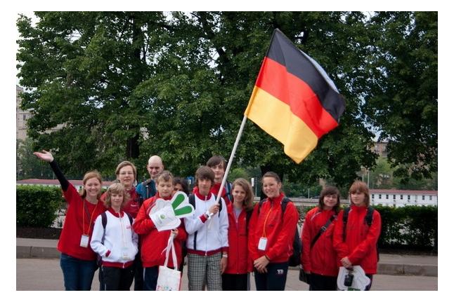 Игр победителей - 2012. Команда Германии.