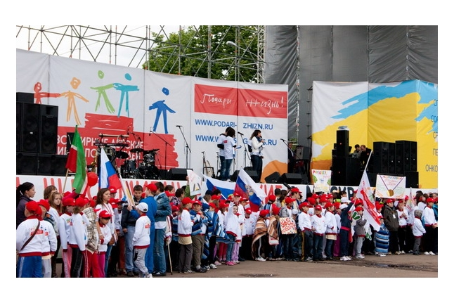 Игр победителей - 2012. Парад команд.