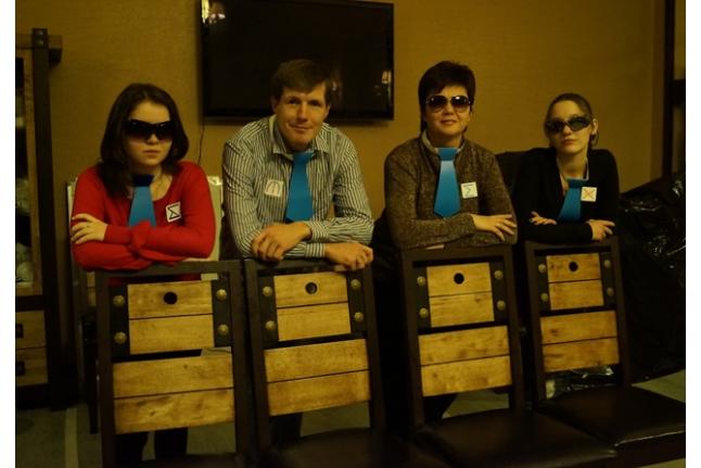 Агенты 006: Яна Пономарева, Денис Гасилин, Галина Сибикина и Маша Вайтишкина