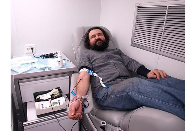 Сдавать кровь приятно!