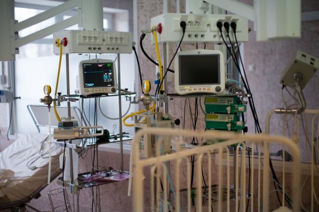 Отделение интенсивной терапии в Морозовской больнице