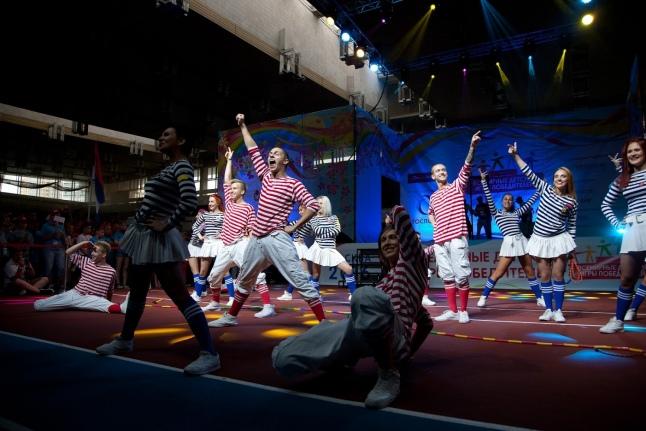 Балет «Тодес» на церемонии открытия Игр