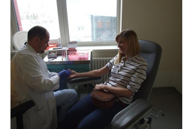Донорская акция сотрудников государственной ветеринарной службы Москвы
