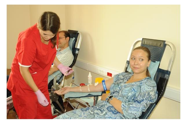 День донора в ОАО «МРСК Центра»