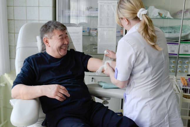 Донор в Российской детской клинической больнице