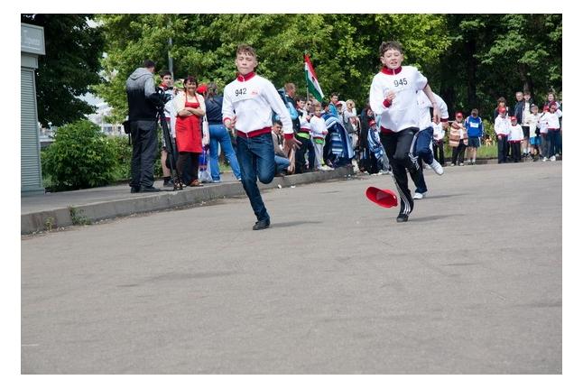 Игр победителей - 2012. Соревнования по бегу.