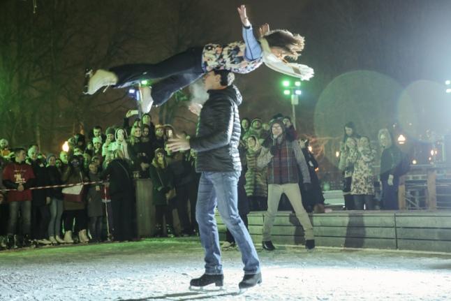 Алла Михеева и Максим Маринин