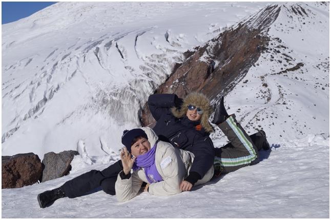 Миша Сибикин с мамой