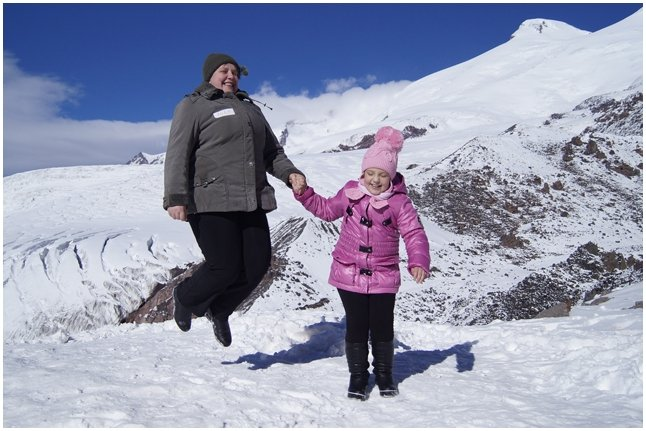 Наташа Савченко с мамой