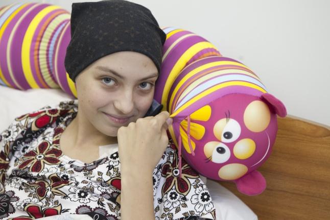 Таня во время лечения