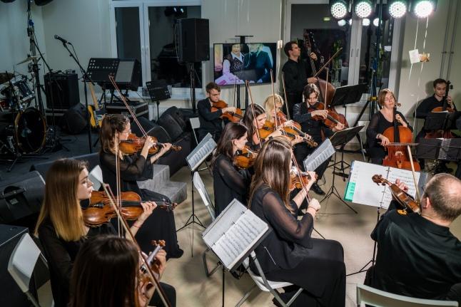 Оркестр под руководством Миши Рахлевского