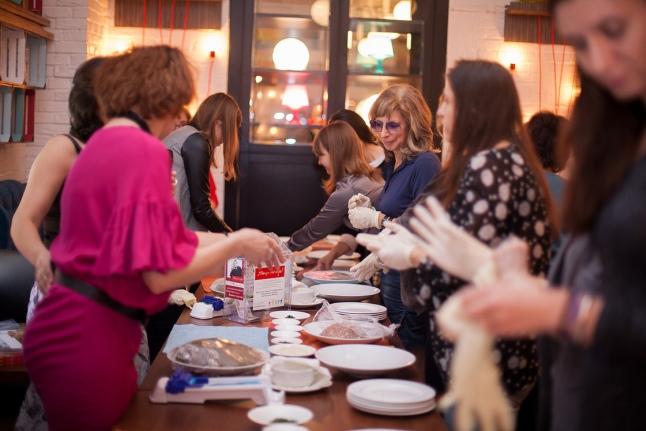 Безумное чаепитие по армянским традициям в Scenario Cafe