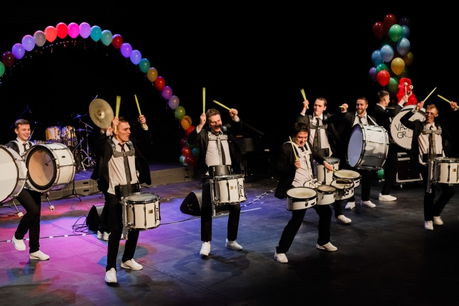 Барабанное шоу №1 в России «Васильев Грув»