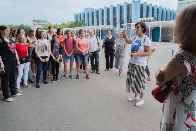Экскурсия с Надеждой Кузнецовой по территории стадиона ЦСКА