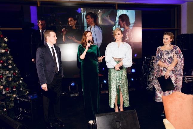 Ведущие вечера Игорь Верник и Ксения Собчак, Евгения Попова, Светлана Бондарчук