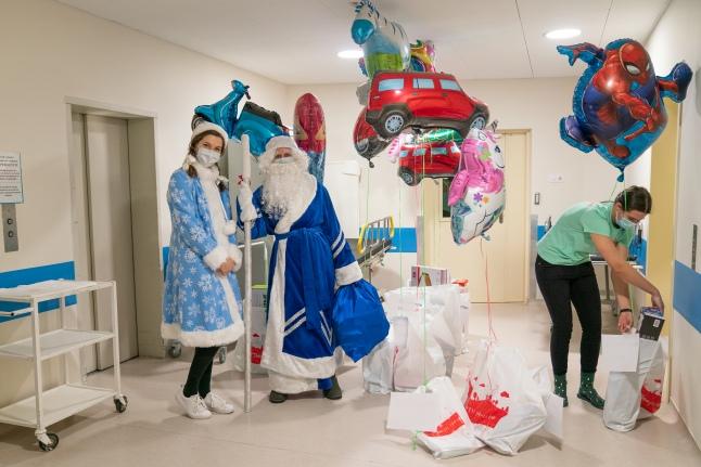 Новый год в Центре нейрохирургии