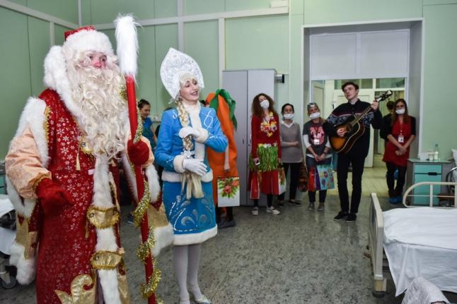 Концерт для пациентов Боткинской больницы