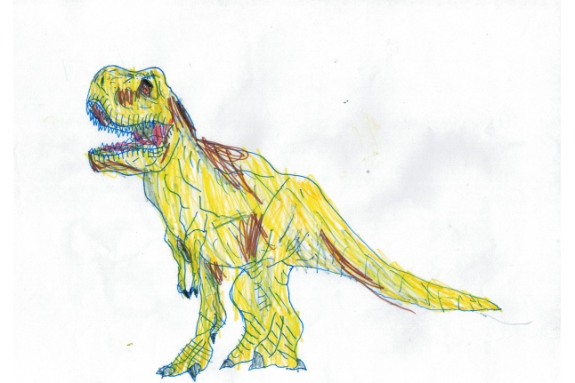 Любимые динозавры Максима Слезкина