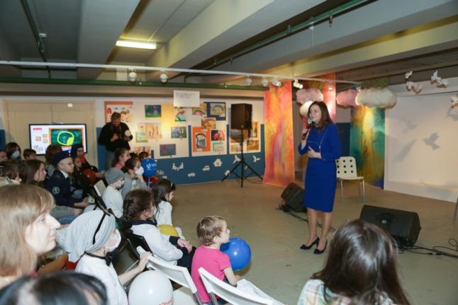 Открытие выставки «Нарисуй мне барашка!» - Ирина Черноморец