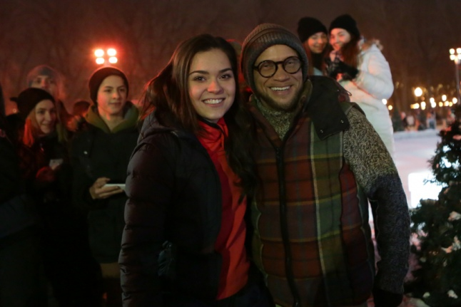 Аделина Сотникова и Дмитрий Хрусталев
