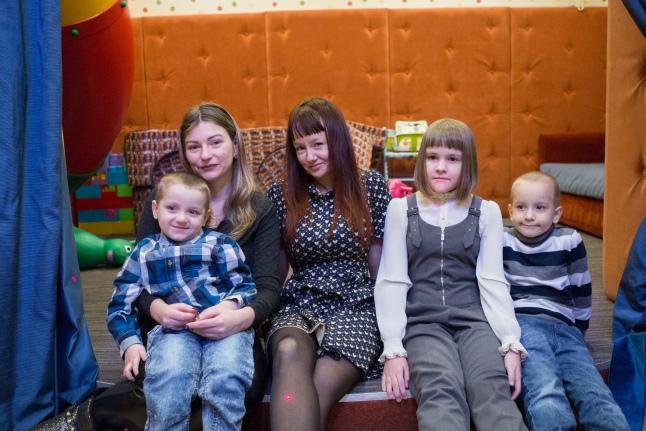 Они встретились! Ирина с Владом, Екатерина, Настя и Саша