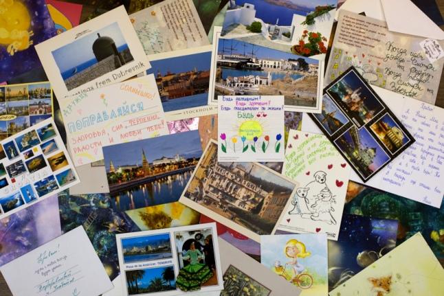 Первые ласточки акции Подари детям открытку