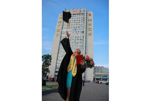 Даша выпускница