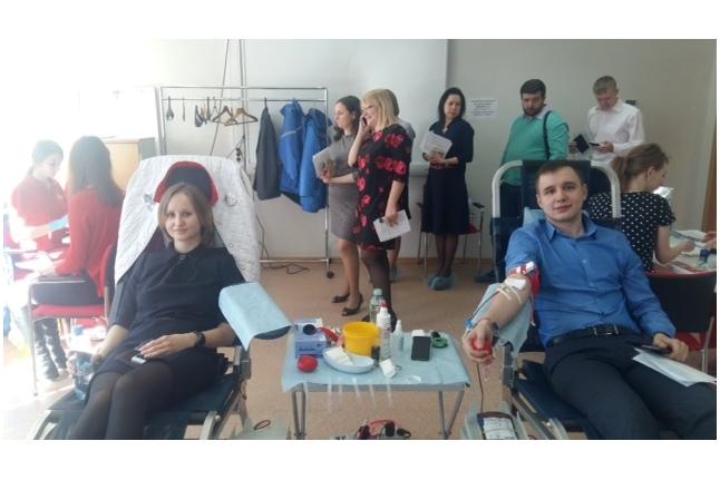 День донора в МТС