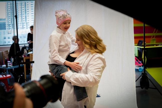 Таня Макшанова и ее мама Евгения