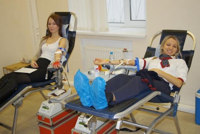 60 литров донорской крови от «Трансаэро»