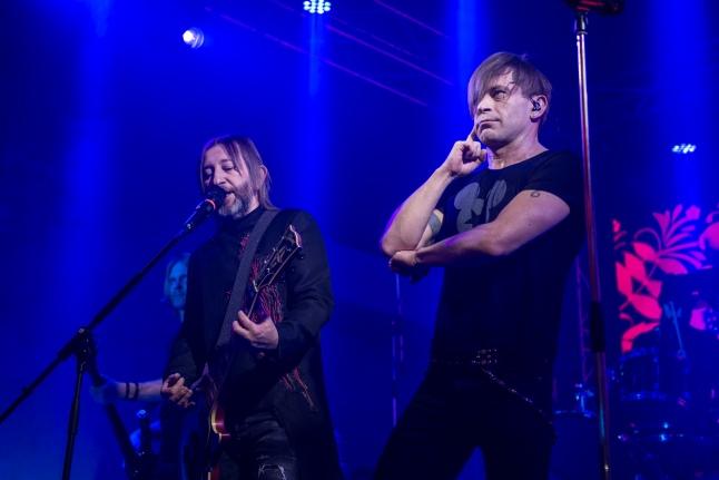 Выступление группы Би-2