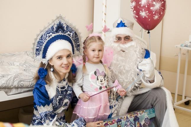 Новый год в Московском областном онкодиспансере