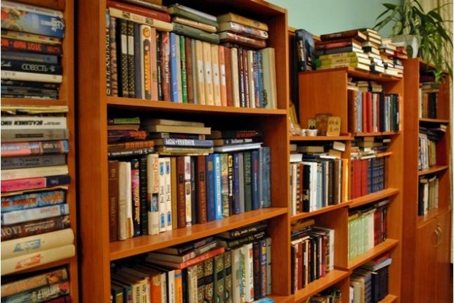 Библиотека в Боткинской больнице