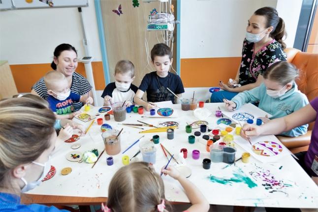 Пасхальный мастер-класс в Великую субботу (Центр детской гематологии)
