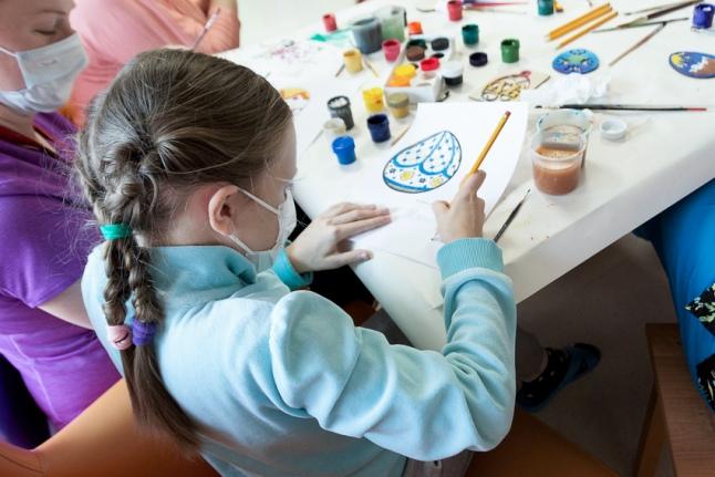 Радость творчества (Центр детской гематологии)