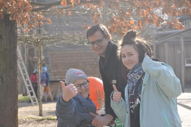 Андрей и Лера подружились с Кристофом