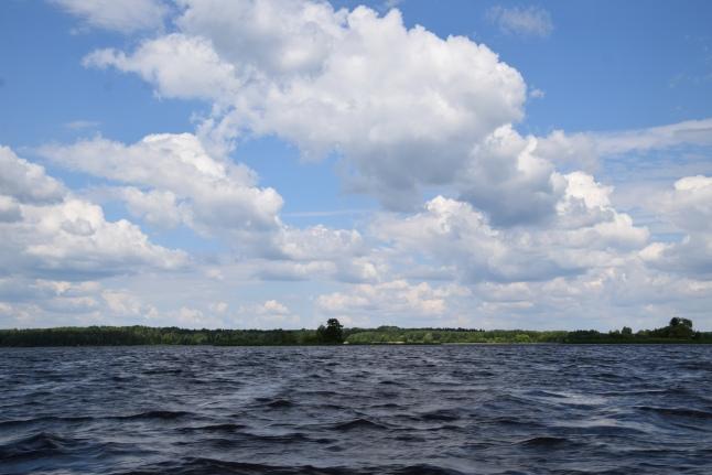 На водах Московского моря
